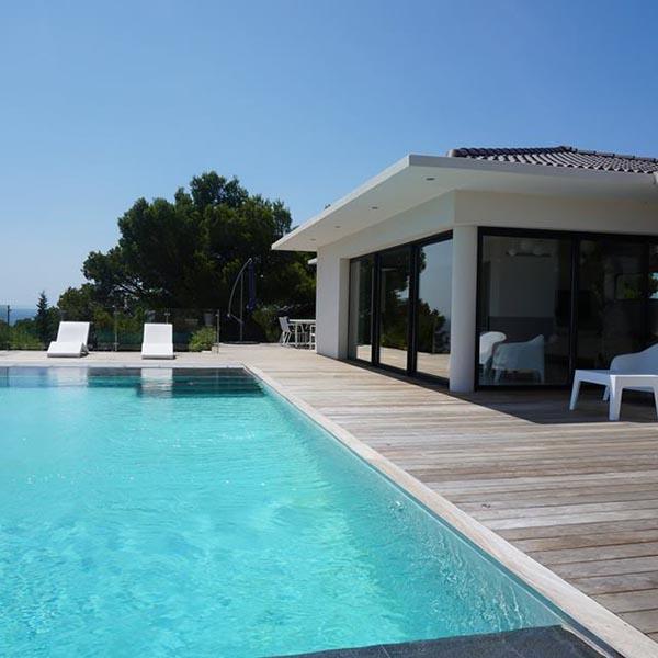 construction villa modernes, Aubagne, Aix en Provence